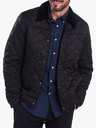 Barbour Lemal Quilted Jacket, Black