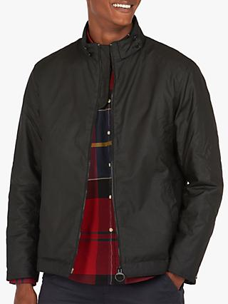 Barbour Barnby Wax Jacket, Black