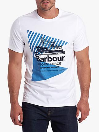 Barbour Stormforce Vessel Graphic T-Shirt, White