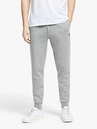 Polo Ralph Lauren Double Knit Jogger Bottom, Battalion Heather