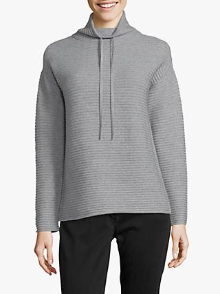 Betty Barclay Ribbed Funnel Neck Jumper
