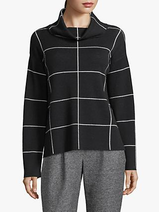 Betty Barclay Check Knit Jumper