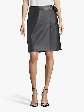 Betty Barclay Faux Leather Skirt, Black