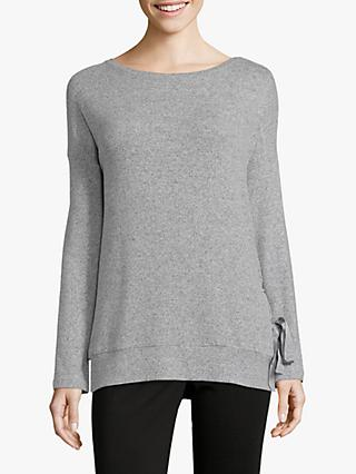Betty Barclay Side Tie Sweat Top, Grey