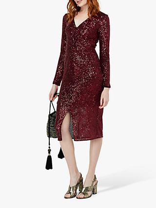 Monsoon Rosie Sequin Midi Dress