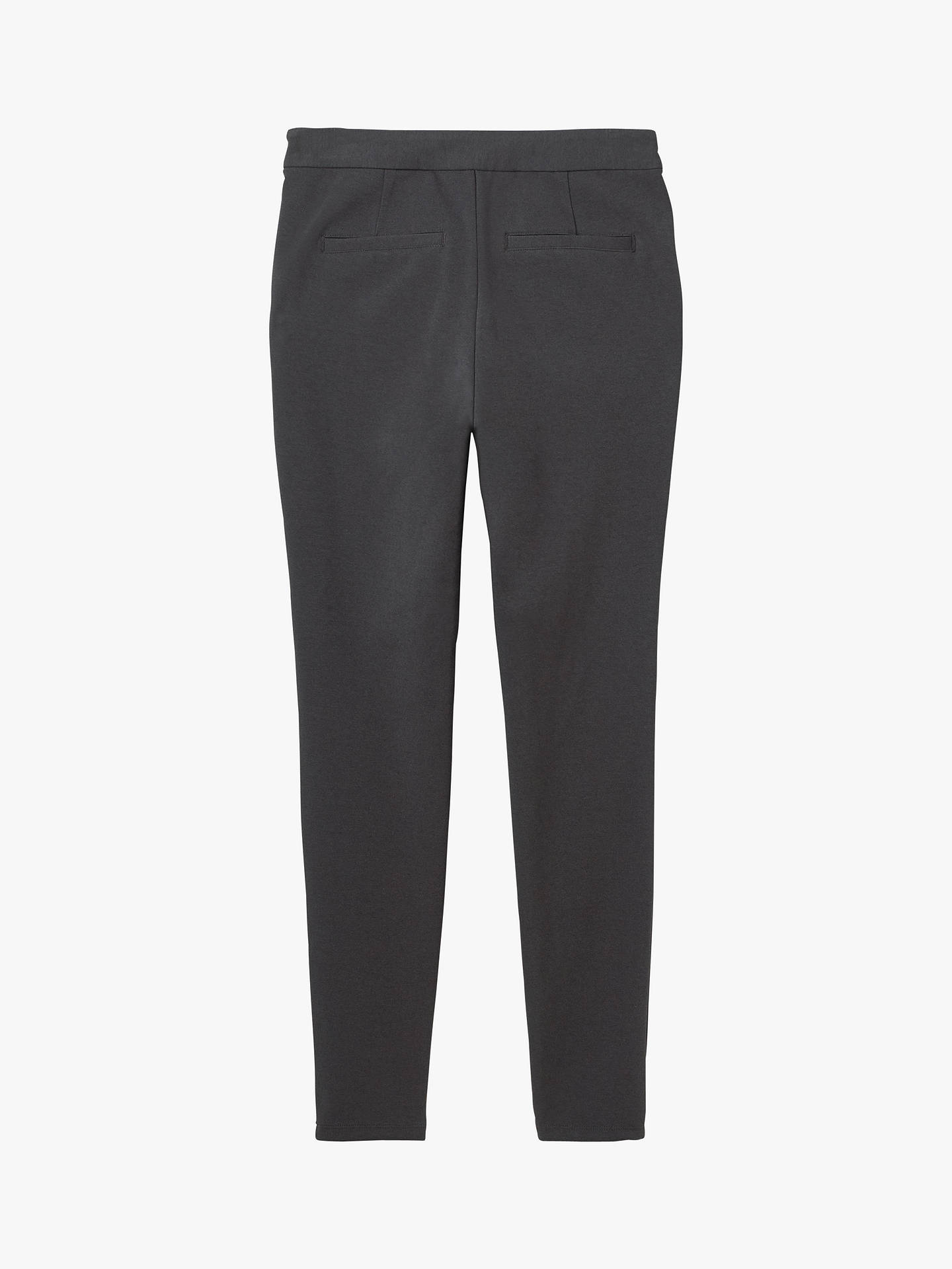 Buy White Stuff Ponte Trousers, Charcoal, 6 Online at johnlewis.com