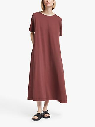 Together dress plus size 20 24 26 28 30 32 plum berry embroidered neckline