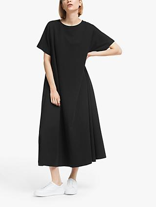 Kin Gathered Back Jersey Dress