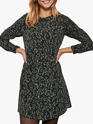 Mint Velvet Arla Floral Print Mini Dress, Multi