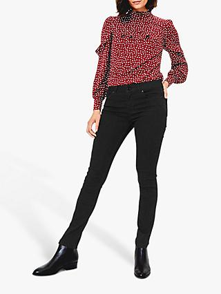 Oasis Cherry Slim Leg Jeans, Black