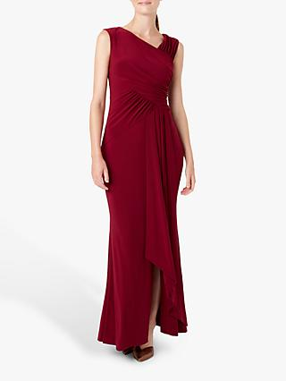 Hobbs Niamh Maxi Dress, Plum