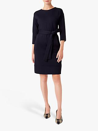 Hobbs Valentina Dress, Navy