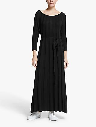 Y.A.S Chelsea Knitted Maxi Dress, Black