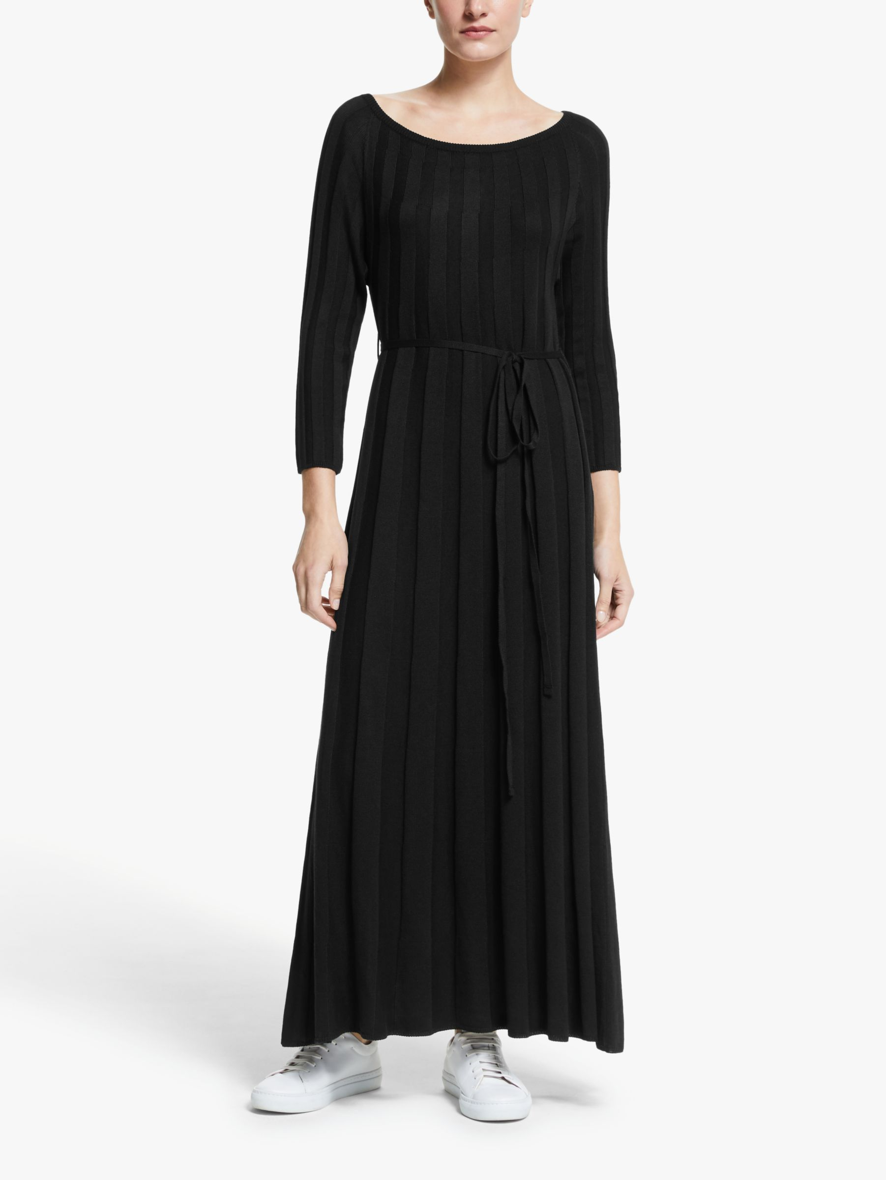Y.a.s Y.A.S Chelsea Knitted Maxi Dress, Black