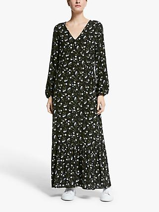 Y.A.S Daisy Maxi Dress, Black