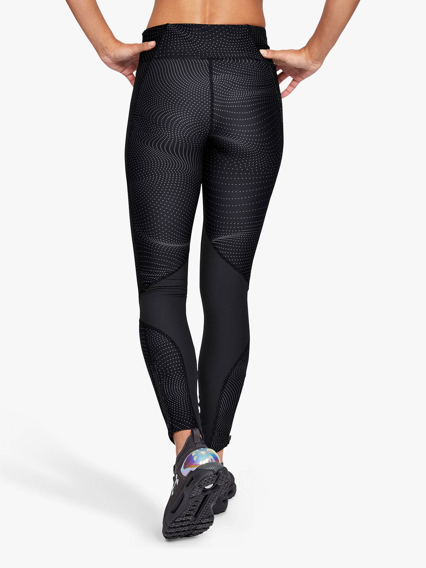 humedad Cadena filete  Under Armour Fly Fast Print Running Tights, Jet Grey/Reflective at John  Lewis & Partners