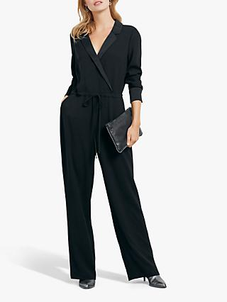 hush Eveline Jumpsuit, Black, Black