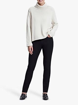 Winser London Straight Leg Jeans, Black