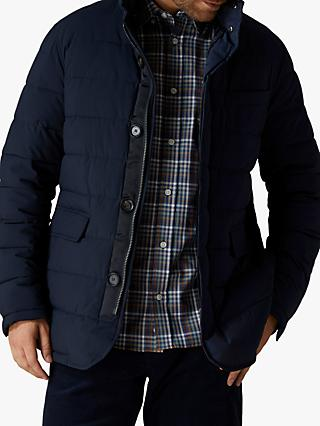 Jaeger Quilted Jacket, Navy