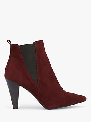 Mint Velvet Kayla Suede Pointed Ankle Boots