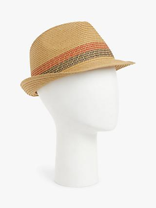John Lewis & Partners Packable Trilby Hat