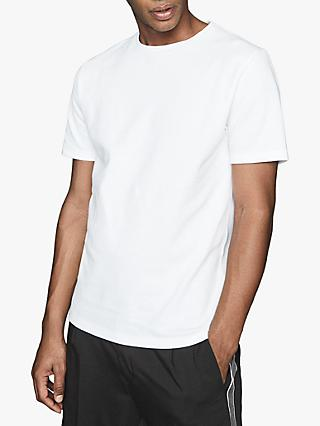 Reiss Heaton Honeycomb Textured Crew Neck T-Shirt
