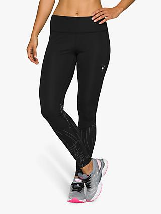 ASICS Night Track Running Tights, Black