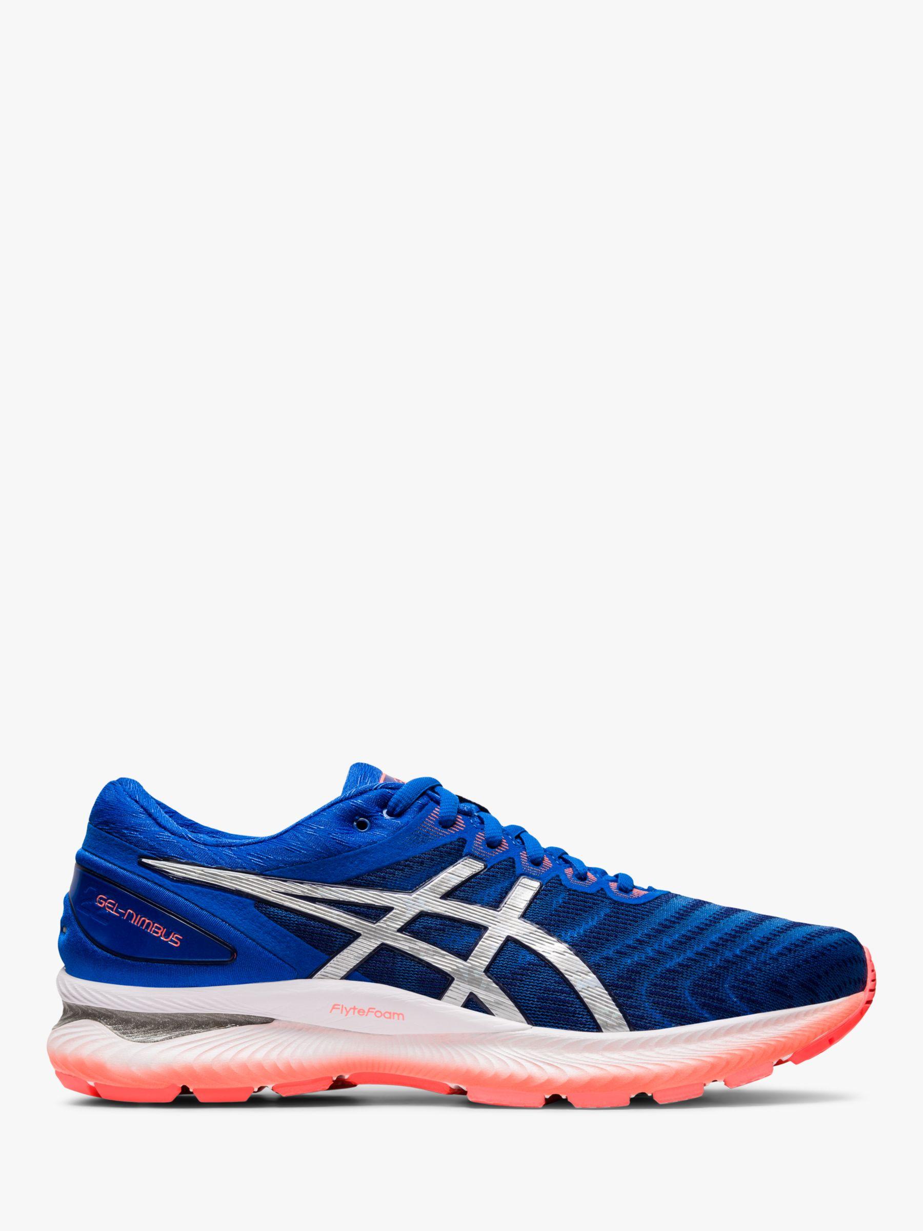 ASICS ASICS GEL-NIMBUS 22 Men's Running Shoes, Tuna Blue/Pure Silver