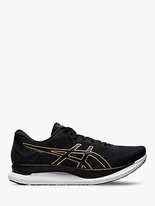 ASICS GLIDERIDE Men's Running Shoes, Black/Pure Gold