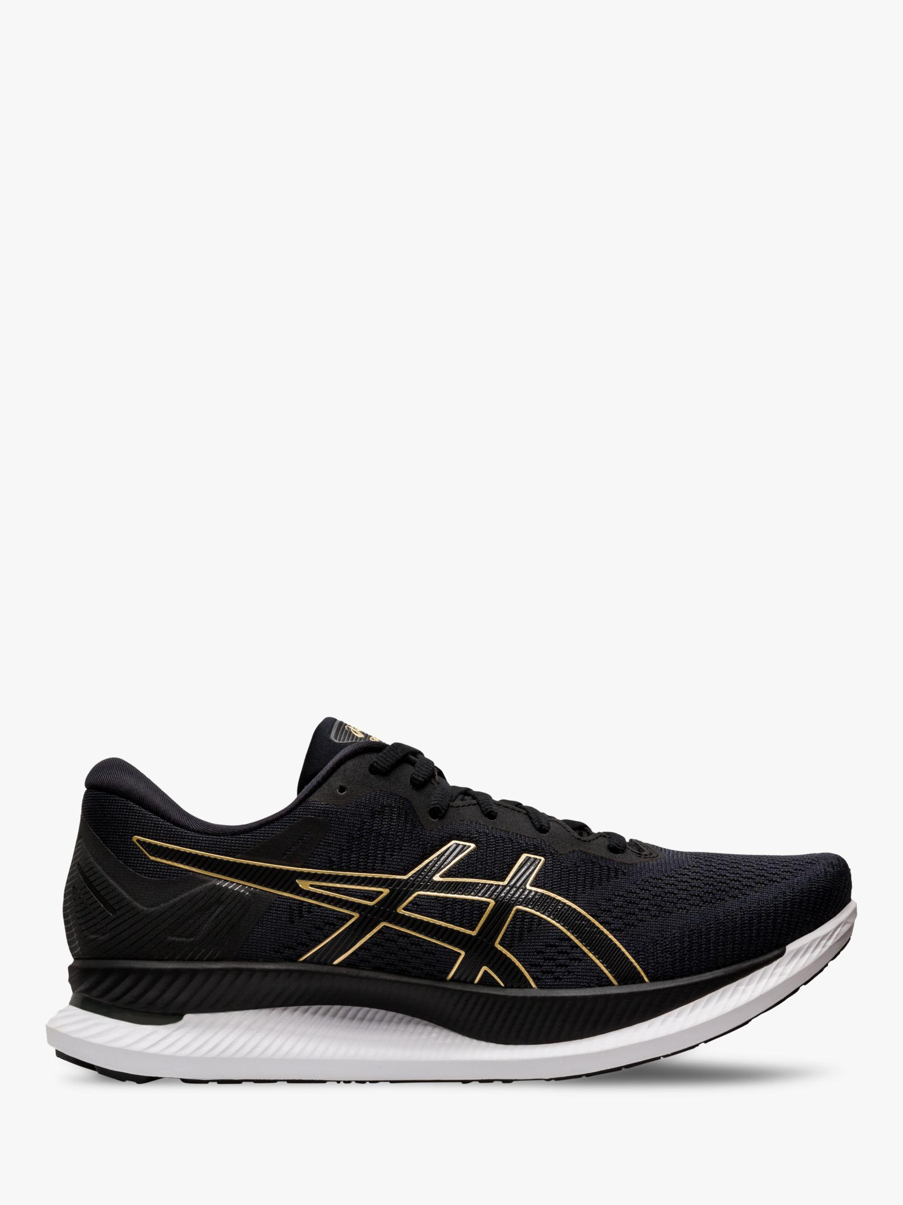 ASICS ASICS GLIDERIDE Men's Running Shoes, Black/Pure Gold