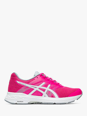 Buy ASICS GEL-EXALT 5 Women's Running Shoes, Pink Glow/White, 4 Online at johnlewis.com