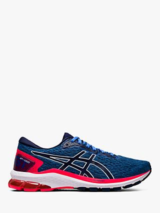 ASICS GT-1000 9 Women's Running Shoes, Blue Coast/Peacoat
