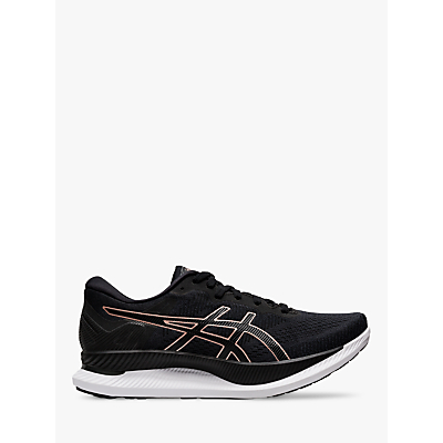 Product photo of Asics glideride women s running shoes black rose gold