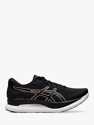 ASICS GLIDERIDE Women's Running Shoes, Black/Rose Gold