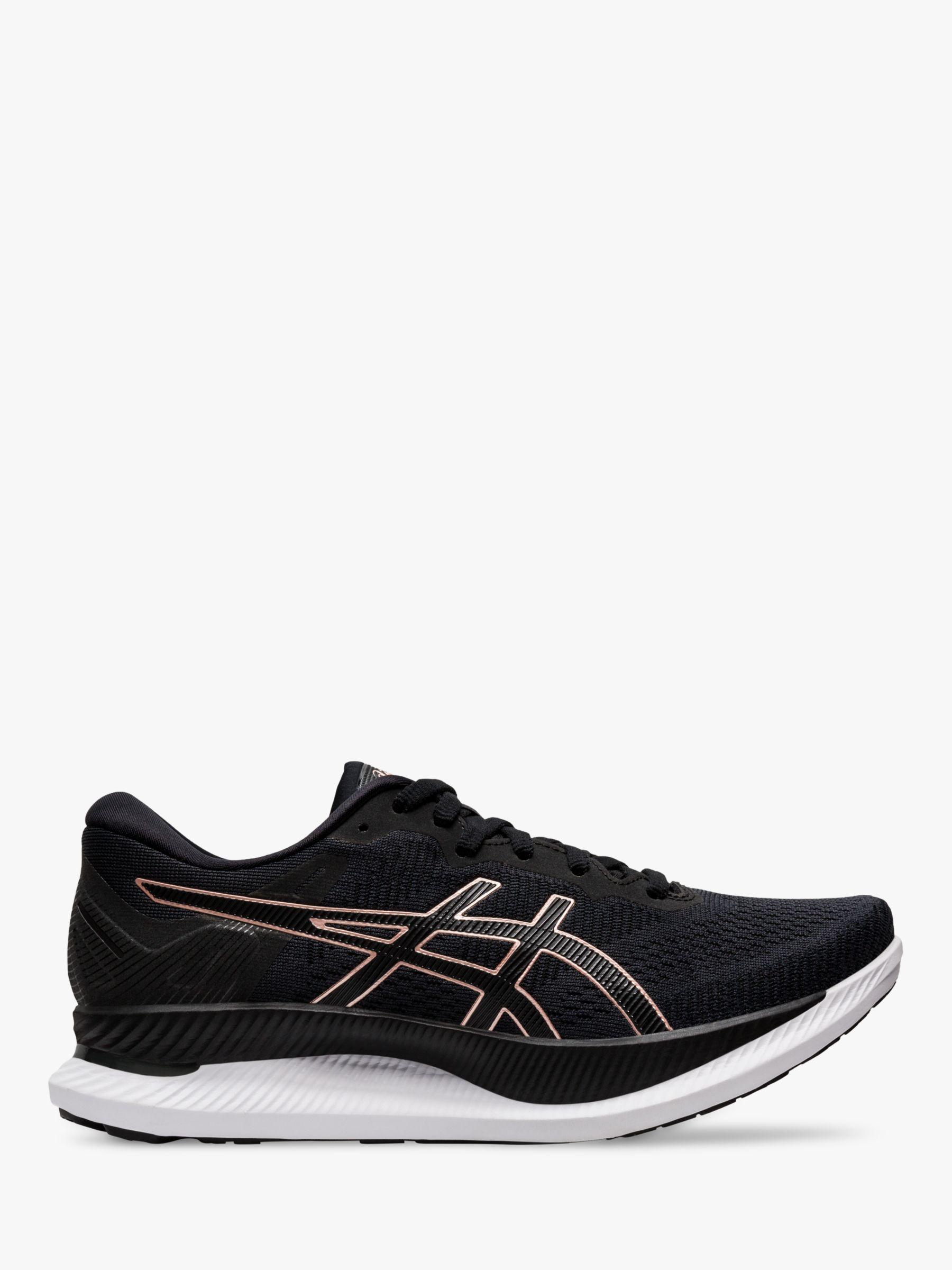 ASICS ASICS GLIDERIDE Women's Running Shoes, Black/Rose Gold
