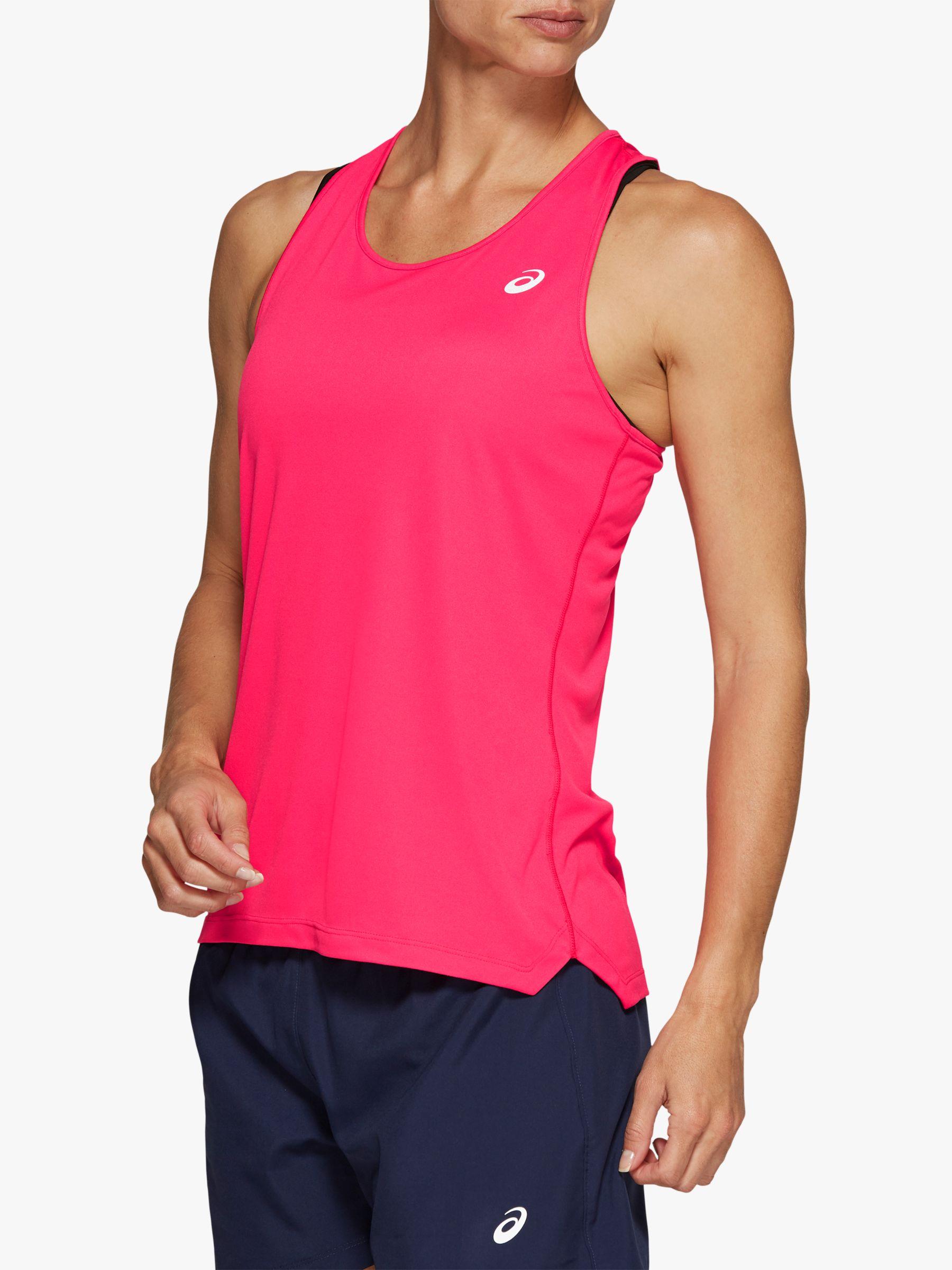 ASICS ASICS Silver Running Vest, Pixel Pink