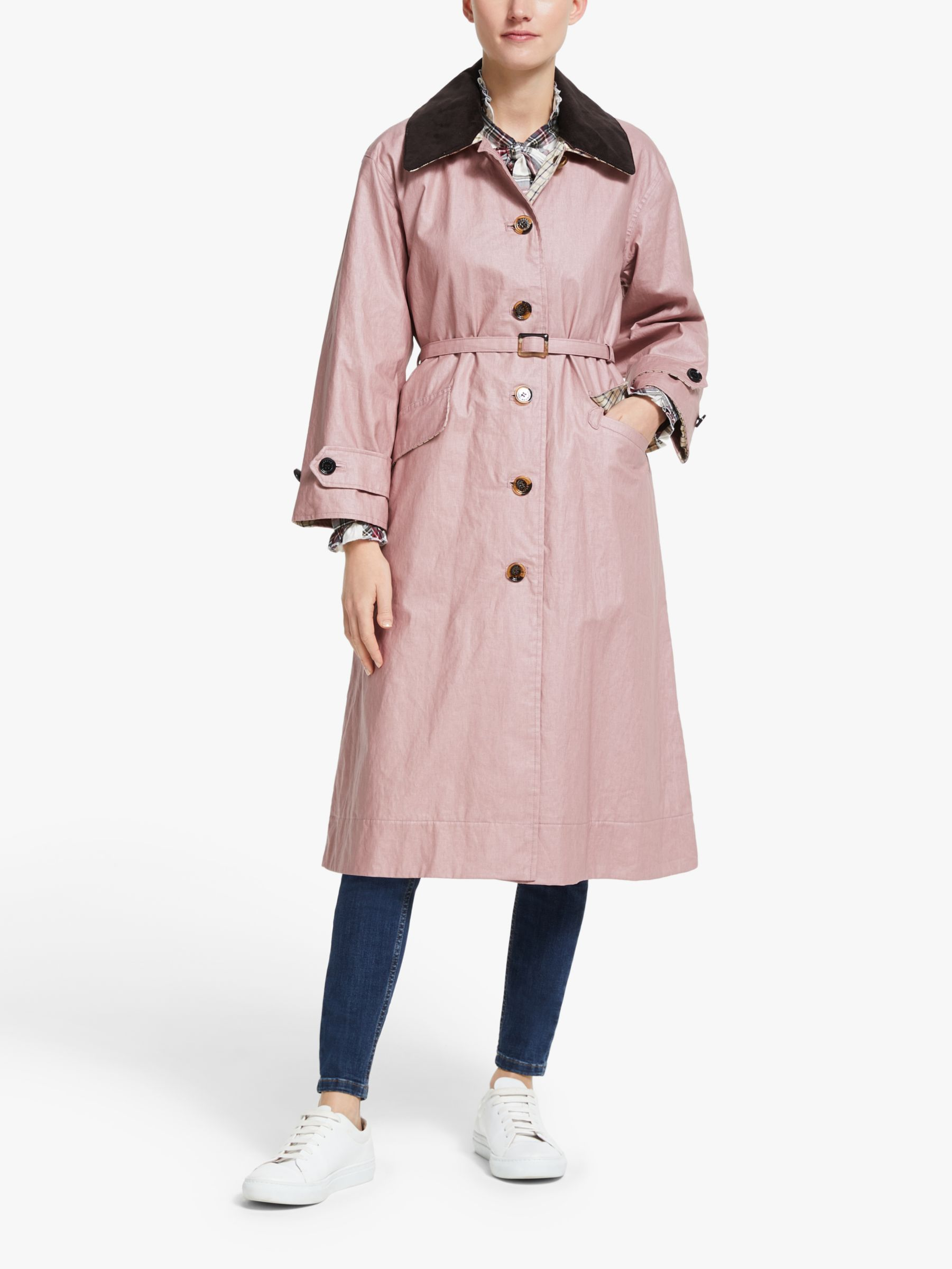Barbour Barbour by ALEXACHUNG Mildred Casual Long Jacket