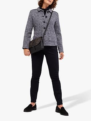White Stuff Ardingly Wool Blend Jacket, Blue