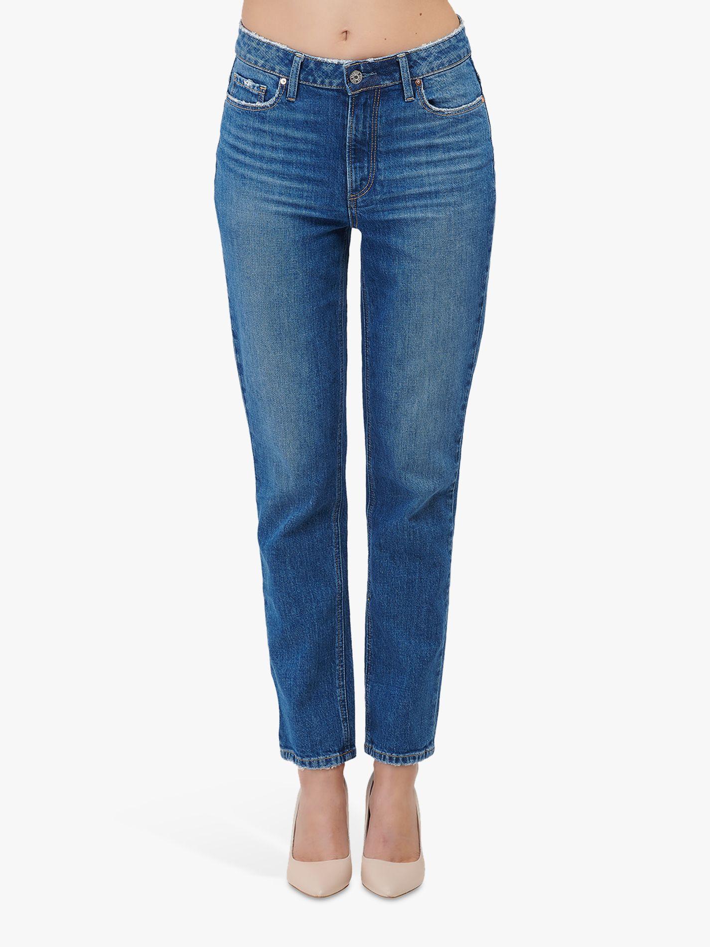 Paige Paige Hoxton Slim Straight Leg Jeans, Trail