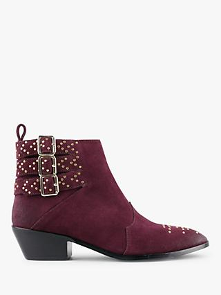 hush Battersea Buckle Ankle Boots