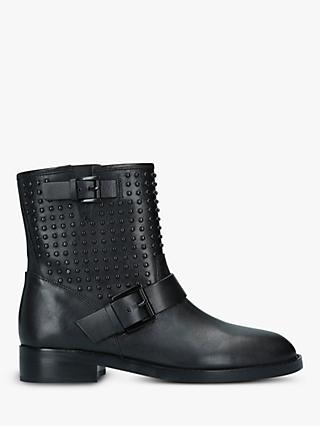 MICHAEL Michael Kors Reeves Studded Leather Ankle Boots, Black