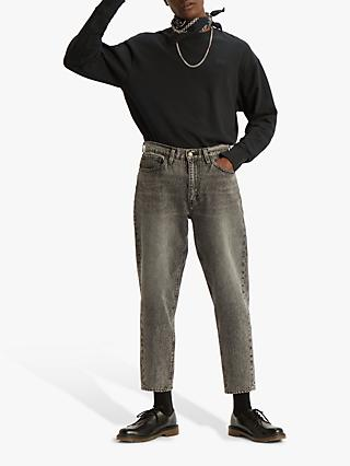 Levi's Authentic Logo Crew Neck Sweatshirt, Mineral Black