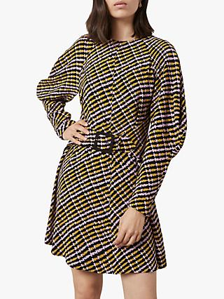 Finery Leona Abstract Print Dress, Multi