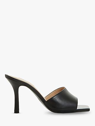 Dune Mantra Stiletto Heel Leather Mules