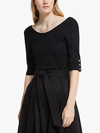 Somerset by Alice Temperley Jersey Scoop Neck Top
