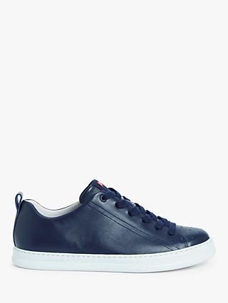 Camper Runner Leather Trainers, Navy