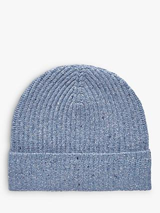 Brora Cashmere Donegal Ribbed Hat