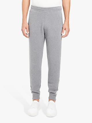 Theory Astine Wool Cashmere Joggers, Grey