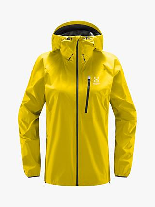 Haglöfs L.I.M Women's Gore-Tex Jacket, Signal Yellow