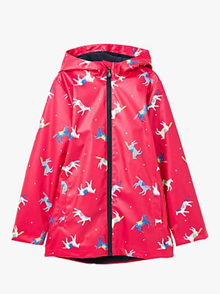 Little Joule Girls' Raindance Coat, Pink